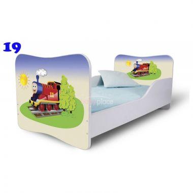 Dětská postel Pinokio Deluxe Butterfly Vláček 19