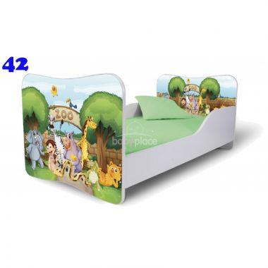 Pinokio Deluxe Butterfly Zoo 42 dětská postel
