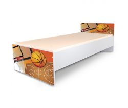Postel 180 x 80 cm Pinokio Deluxe Classic Basketbal C-32