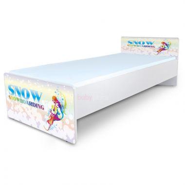 Pinokio Deluxe Classic Snowboarding C-37 postel 180 x 80 cm