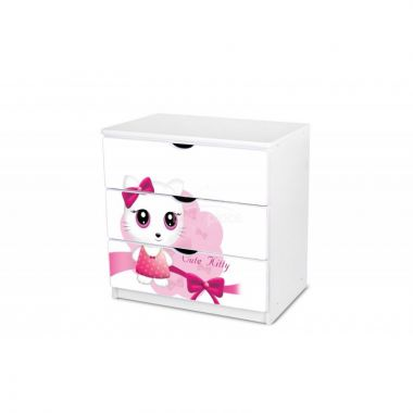 Šuplíková komoda Pinokio Deluxe Cute kitty 13
