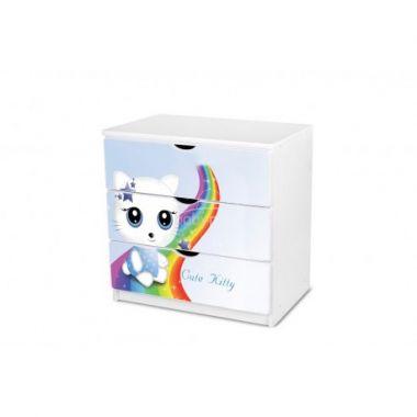 Šuplíková komoda Pinokio Deluxe Cute Kitty 15