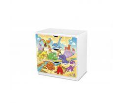 Pinokio Deluxe Dinosauři 51 šuplíková komoda