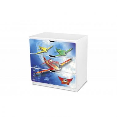 Šuplíková komoda Pinokio Deluxe Letadla 43