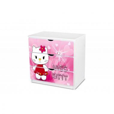 Šuplíková komoda Pinokio Deluxe Miss Kitty 14