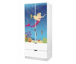 Pinokio Deluxe Mořská panna 45 šatní skříň