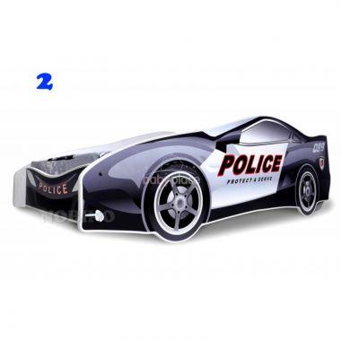 Pinokio Deluxe Policejní auto dětská postel