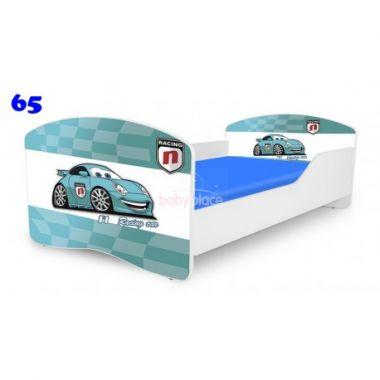Dětská postel Pinokio Deluxe Rainbow Auta 65
