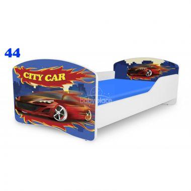 Dětská postel Pinokio Deluxe Rainbow Auto 44