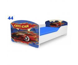 Pinokio Deluxe Rainbow Auto 44 dětská postel