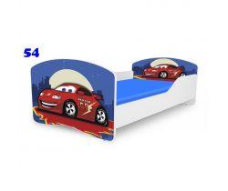 Pinokio Deluxe Rainbow Auto 54 dětská postel