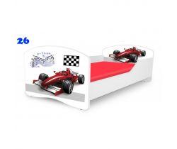 Pinokio Deluxe Rainbow Formule 26  dětská postel
