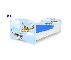 Pinokio Deluxe Rainbow Helikoptéra 61   dětská postel