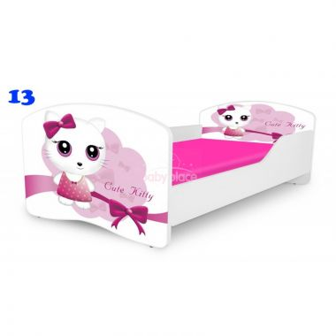 Dětská postel Pinokio Deluxe Rainbow Kočička 13