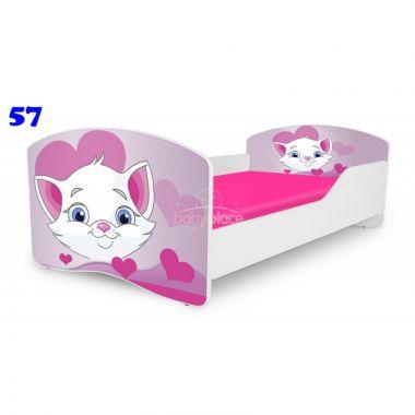 Pinokio Deluxe Rainbow Kočička 57 dětská postel