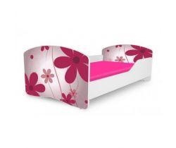 Pinokio Deluxe Rainbow Květinka 1 dětská postel