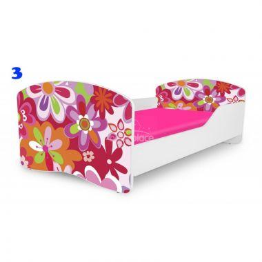 Dětská postel Pinokio Deluxe Rainbow Květinka 3