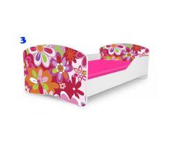 Pinokio Deluxe Rainbow Květinka 3 dětská postel