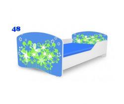 Pinokio Deluxe Rainbow Květinka 48  dětská postel