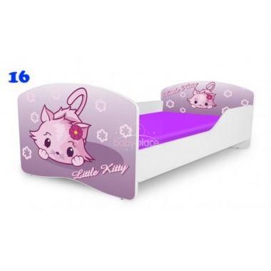 Dětská postel Pinokio Deluxe Rainbow Little Kitty 16