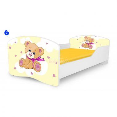 Dětská postel Pinokio Deluxe Rainbow Medvídek 6