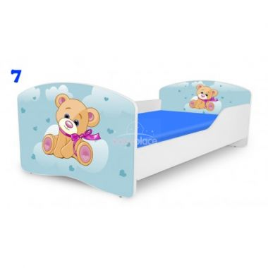 Pinokio Deluxe Rainbow Medvídek 7 dětská postel