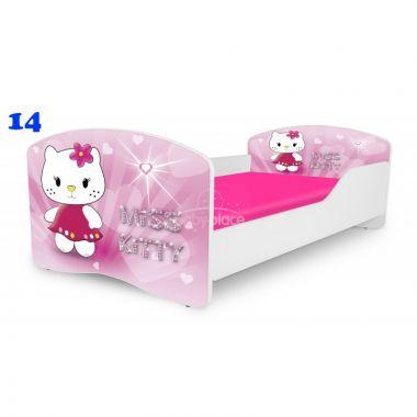 Pinokio Deluxe Rainbow Miss Kitty 14  dětská postel