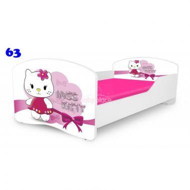 Pinokio Deluxe Rainbow Miss Kitty 63 dětská postel