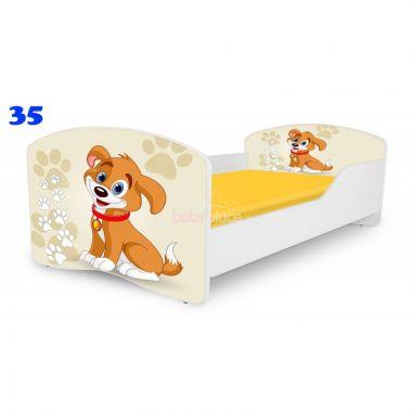 Dětská postel Pinokio Deluxe Rainbow Pejsek 35