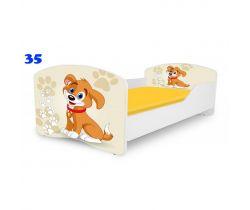 Pinokio Deluxe Rainbow Pejsek 35  dětská postel
