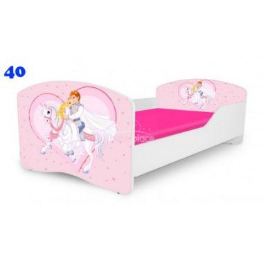 Dětská postel Pinokio Deluxe Rainbow Princ na koni 40