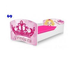 Pinokio Deluxe Rainbow Princess 69 dětská postel