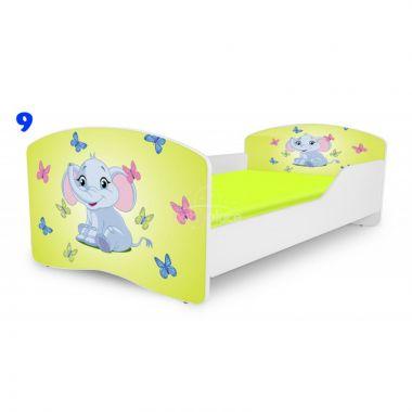 Dětská postel Pinokio Deluxe Rainbow Slon 9