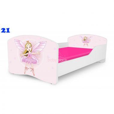 Dětská postel Pinokio Deluxe Rainbow Víla 21