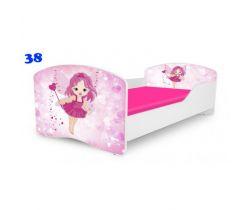 Pinokio Deluxe Rainbow Víla 38   dětská postel