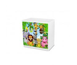 Pinokio Deluxe Safari 17 šuplíková komoda