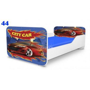 Dětská postel Pinokio Deluxe Square Auto 44