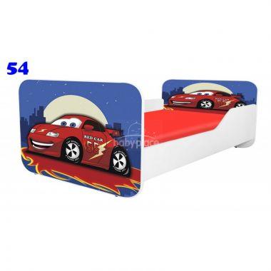 Dětská postel Pinokio Deluxe Square Auto 54