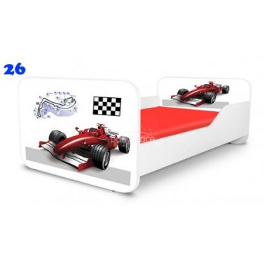Pinokio Deluxe Square Formule 26 dětská postel