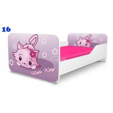 Dětská postel Pinokio Deluxe Square Little kitty 16