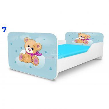 Dětská postel Pinokio Deluxe Square Medvídek 7