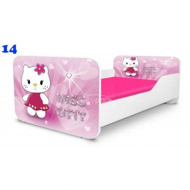 Pinokio Deluxe Square Miss Kitty 14 dětská postel