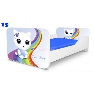 Dětská postel Pinokio Deluxe Square Miss Kitty 15