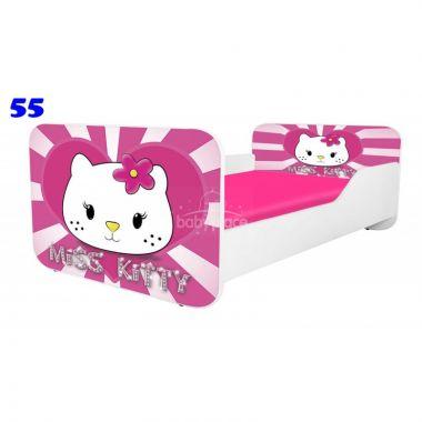 Pinokio Deluxe Square Miss Kitty 55 dětská postel