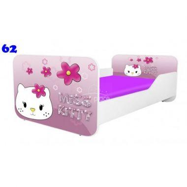 Pinokio Deluxe Square Miss Kitty 62 dětská postel