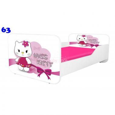 Pinokio Deluxe Square Miss Kitty 63 dětská postel