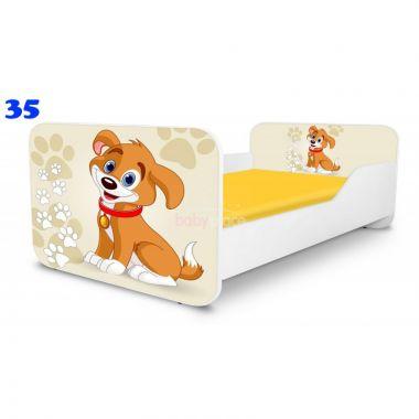 Dětská postel Pinokio Deluxe Square Pejsek 35