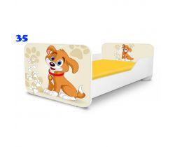 Pinokio Deluxe Square Pejsek 35 dětská postel