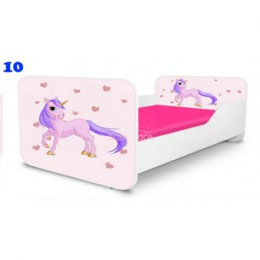 Pinokio Deluxe Square Poník 10 dětská postel