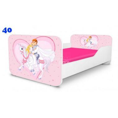 Pinokio Deluxe Square Princ na koni 40 dětská postel